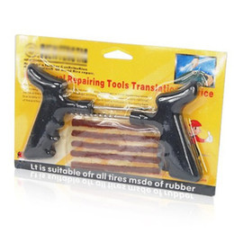 Wholesale-EDFY Motorcycle Car Tubeless Tyre Puncture Plug Repair Pen Tools Tyre Repair Kit