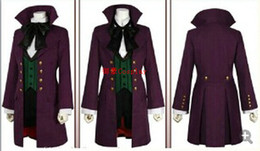 Wholesale-Black Butler Season 2 Earl Alois Trancy cosplay party anime Cosplay Costume Clothes Dress Set Full Set 5 lot