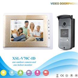 Wholesale XSL V70C ID V1 Hot sale Villa entry door multi apartments video door phone with Intercom function