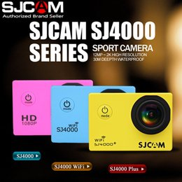 Wholesale 100 Original SJCAM SJ4000 basic sport Action video Camera Waterproof inch screen degree M P Sports DV