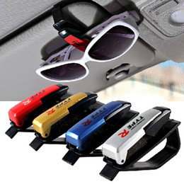 Wholesale Auto Fastener ABS Car Vehicle Sun Visor Sunglasses Eyeglasses Glasses Holder Card Ticket Pen Clip Automotive Accessorie