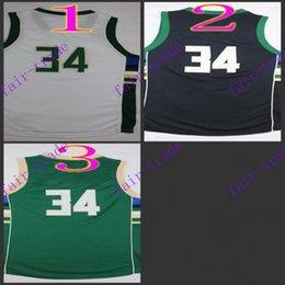 Wholesale giannis antetokounmpo New Arrival swingman Basketball Jerseys Sportswear Jersey S XL Mix order