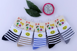 Wholesale 2016 Fashion boys and girls kids socks high quality cotton Smiley face frees shipping