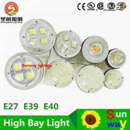 Wholesale led high bay light E27 E40 E39 AC85 V W W W W W pendant lamps indoor Outdoor lightings Decoration for School Shop Warehouse