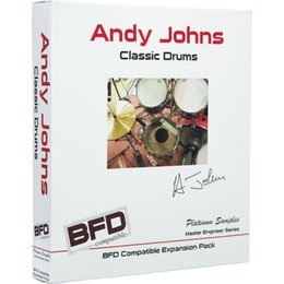 Wholesale Platinum Samples Andy Johns Classic Drums software source