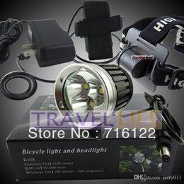 New 3800 Lumen 3x CREE XM-L T6 LED Headlight Headlamp Bicycle Bike Light Waterproof Flashlight with Retail box