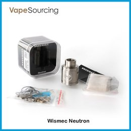 Wholesale Original WISMEC Neutron RDA Atomizer with Unique Vortex Flow Technology best match Noisy Cricket MOD VS Cylin RTA Atomizer