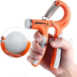 Descuento ejercitador de agarre 10-40kgs Herramienta ajustable de la herramienta de la pinza de la mano del ampliador de la mano del apretón de la aptitud del apretón de la mano ajustable plástico de la mano con el empaquetado al por menor