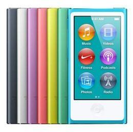 8gb tactile en Ligne-Promotion MP3 Playe 7 couleurs Nouveau 7ème génération de la génération 2.0 Tft écran tactile 16gb Mp3 Mp4 joueur Digital Fm Radio Vidéo libre