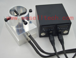 Wholesale Double hole enail heating aluminum plate Electric enail temperature control box with heating rod for rosin press plate