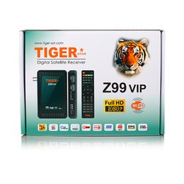 Wholesale Echolink Digital Satellite Receiver Tiger Z99 vip DVB S2 Full HD Iptv Box Free To Air Internet Receiver