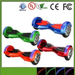 8 inch hoverboard bluetooth Smart Balance electric scooter Unicycle 2 Wheel Self Balancing Electric Scooters HoverBoards self balance boards