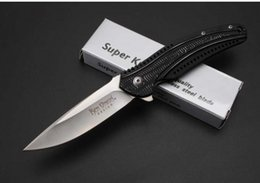 Wholesale CRKT high end ball bearing HRC steel G10 Cr14Mov camping hunting knife folding knife