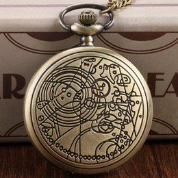 Wholesale atches Clocks Pocket Fob Watches Retro Pocket Watch Necklace Fullmetal Alchemist The Nightmare Before Christmas Doctor Who Batman Deadpoo