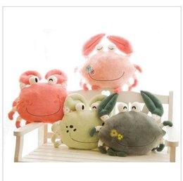 Wholesale stuffed animals big size crab CM Children s Cartoon big Plush Toy kids toys
