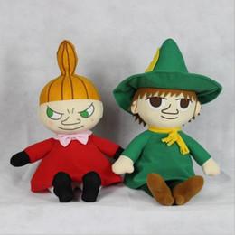 Muñecas del bjd en venta-1pcs 40CM Muumit Rivieralla Moomim Snufkin Poco Mis peluche Muñecas Peluches regalo para los niños Juguetes para niños de gran tamaño