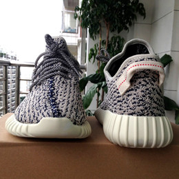 Wholesale Primeknit Upper Updated Boost Authentic Boost Kanye West Sneakers New Collection Big Discount Ship Double Box Size US