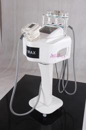 New 500w RF vacuum blue light head ultrasonic liposuction Cavitation RF Multipolar Radio Frequency BIO lifting slimming Machine