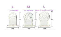 2016 Baby Silicone Pacifier Bags Mesh Bag Feeder Feeding Tool Nipple Silica gel Baby Food Fruit Silicone chupetes de alimentacion 3