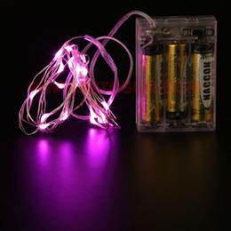 2M 20LED 3AA Battery Operated LED Fairy Light String Wedding Party Christmas Flashing LED Strips 50pcs  lot Free Shipping