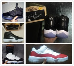 Wholesale retro space jam back gamma legend blue low george town concord infrared bred s mens basketball shoes sneakers US