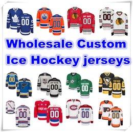 Wholesale Ice Hockey Custom Jersey With Logo and brand Customized Swingman Stitched type Handmade jersey National Hockey League