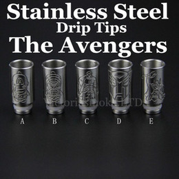 Stainless Steel 510 drip tips for ecig 510 wide bore stainless steel drip tip metal mouthpiece for Electronic Cigarette RDA 510 Atomizer