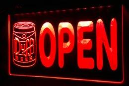 LS460-r Duff Beer OPEN Bar Neon Light Sign