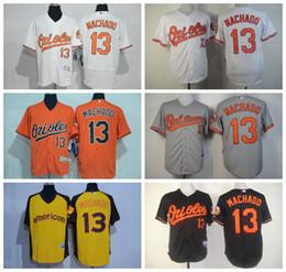 Wholesale Manny Machado Jersey Cool Base Baltimore Orioles Manny Machado Baseball Jerseys Orange White Black Grey Cream Turn Back