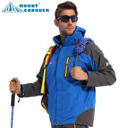 Wholesale Best Quality Winter Men s SoftShell Outdoor Waterproof Windproof Jacket Casual Sports Warm Ski Fleece Bomber Jacket Suit Womens Kids Tops