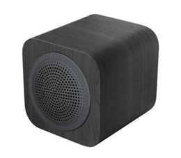 Wholesale AVWOO Best selling fashionable classical Mini Wooden Bluetooth Speaker with high quality can be twins paired to create stereo perfect sound
