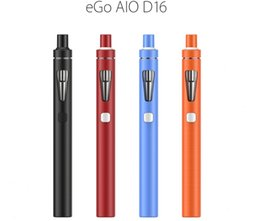 Selling original Joyetech ego aio D16 starter kit 2ml electronic cigarette 6 color in stock free shipping