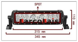 13.8 Inch 56w Cree LED Bar Spot Combo Work Light for Off Road Work Driving Offroad Boat Car Truck 4x4 SUV ATV