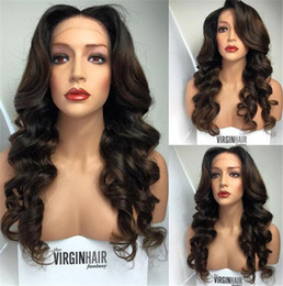 7A Peruvian Silk Top Full Lace Wigs Glueless Full Silk Base Wig Body Wave Silk Base Lace Front Human Wigs For Black Women