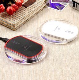 Wholesale Best wireless charger pad Qi Wireless Charger Charging Pad Mini for Samsung S6 S6 Edge iPhone PLUS HTC US02