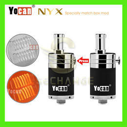 Acheter en ligne Atomiseurs gros-Vente en gros 100% Original cigarette électronique Yocan NYX atomiseur Wax atomiseur ajustement 15W-25W Devices Huge Vapor Purest atomiseur Taste