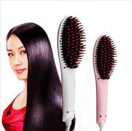 Hair Comb Beautiful Star NASV Digital Hair Straightener Straighteners Straight Hair Styling Tool Straightening Irons Digital Temperature DHL