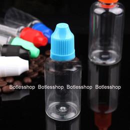 Factory Price 30ml PET E juices Plastic E liquid Dropper Bottles 30 ml Needle Tip Bottles With Child Proof Cap Bottle