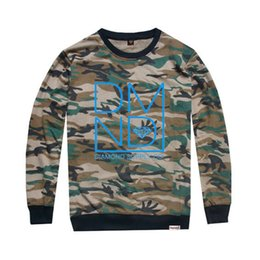 Fashion diamond supply co fashion camouflage long sleeve t-shirt men and women hip hop o-neck t-shirt men camouflage