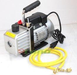 Wholesale R134A R12 R22 NEW CFM AC A C ROTARY VANE DEEP Air ELECTRIC Vacuum Pump