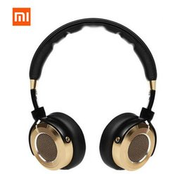 Wholesale 100 Original luxury XIAOMI Mi HiFi bluetooth headphone beryllium diaphragm stereo earphone universal headset for mobile computer