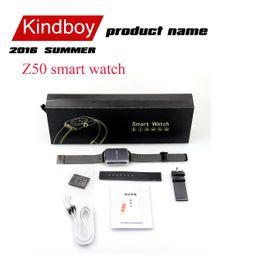 2016 écrans lcd samsung 2016 Z50 montre Smart Watch écran tactile 3.0 Bluetooth 1,54inch LCD MTK6261 2G GSM 240 * 240 OGS Passometer Montre pour iphone 6 Samsung téléphone écrans lcd samsung promotion