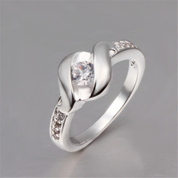Wholesale 925 Sterling Silver Rings Fashion Wedding jewelry Size7 8 10PCS LOT