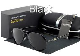 Best selling Sunglasses Polarized men Mercury coated anti reflection Aluminum magnesium alloy frame Driving fishing outdoor glasses E001