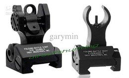 Wholesale New Type TROY INDUSTRIES FRONT REAR FOLDING SIGHT COMBO