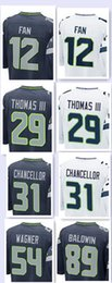 Wholesale Men s Game Jerseys Fan Earl Thomas III Kam Chancellor Bobby Wagner Doug Baldwin Stitching Embroidery jersey top quality
