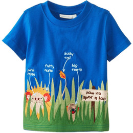 Wholesale Children T-Shirts Girls Clothes Summer Boys T Shirt Kids Tee Shirts Outfits 100% Cotton Mix Color 1-6Years