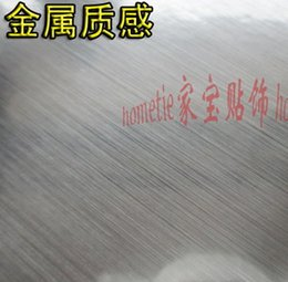Wholesale Light thickening golden silver wiredrawing self adhesive paper furniture electrical appliances quality metal CMX5M CMX5M