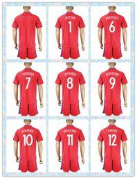 Wholesale Fast Norway Uniforms Kit European cup PEDERSEN JOHANSEN SODERLUND DIOMANDE ODEGAARD Soccer Jersey Red Jerseys Shirt
