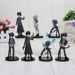 7pcs lot Ao No Blue Exorcist Half Age Characters PVC Figures Model Collection Set Anime For Christmas Gifts with opp bag